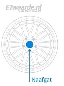 Naafgat diameter